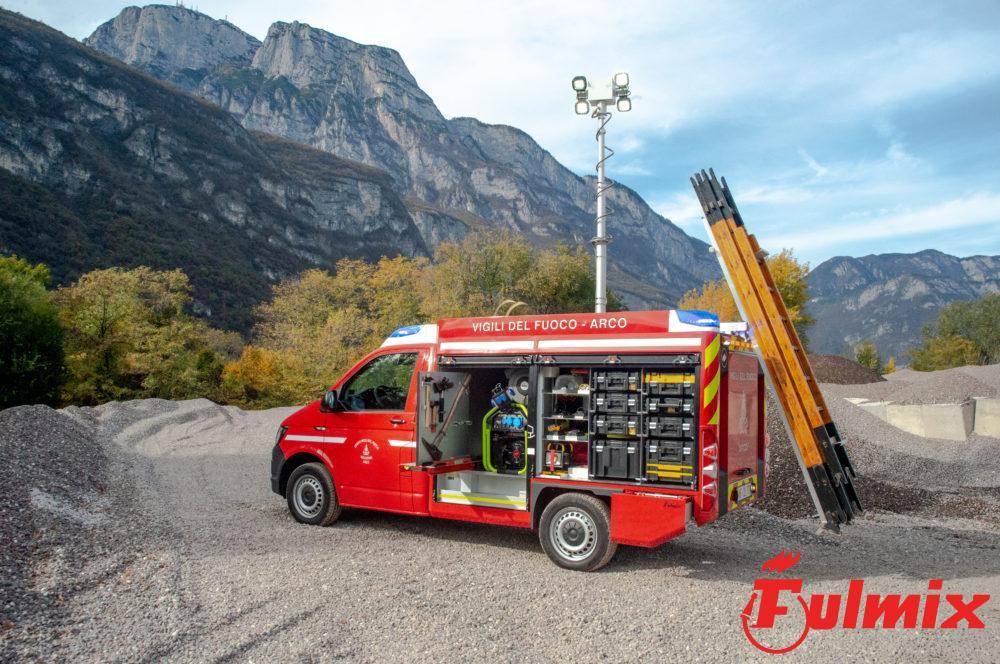 cscendiscala porta scala veicoli vigili del fuoco