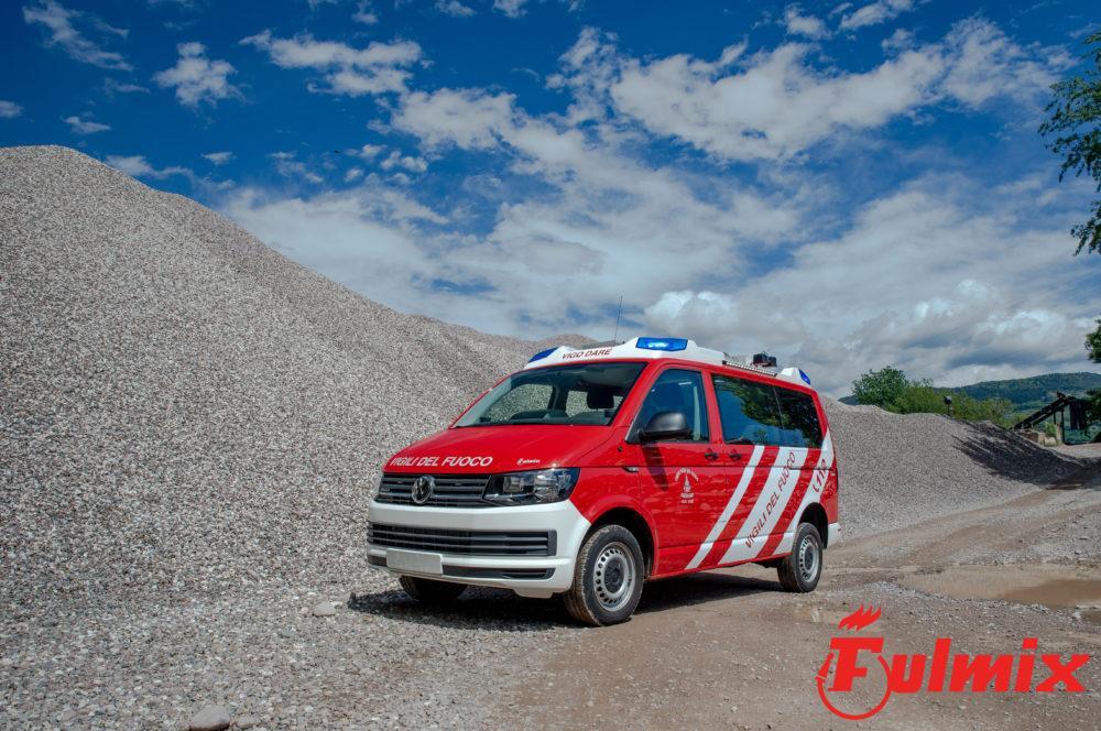 polisoccorso vigili del fuoco trentino vw kombi T6 Volkswagen