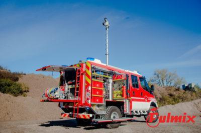 polisoccorso pesante 4x4 vigili del fuoco