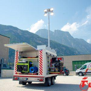 rimorchio idrogeologico protezione civile soccorso alluvioni ed esondazioni