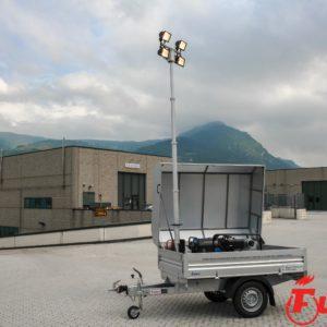 rimorchio polifunzionale idrogeologico protezione civile