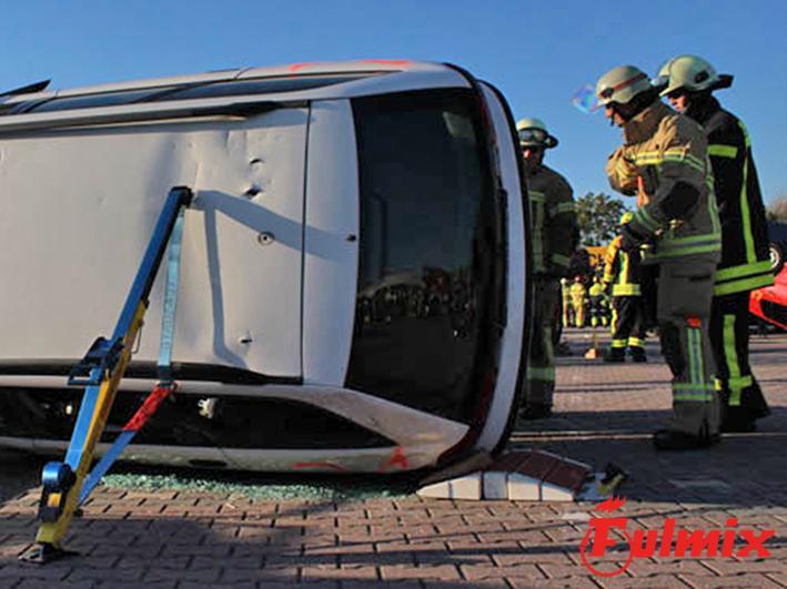 Kit di stabilizzazione per veicoli incidentati