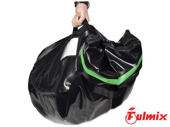 borsa porta DPI riutilizzabile puliti sporchi vigili del fuoco