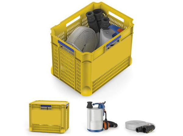 Kit idrogeologico per abitazioni e negozi di emergenza perproteggere da allagamenti le cantine, scantinati, seminterrati e garage