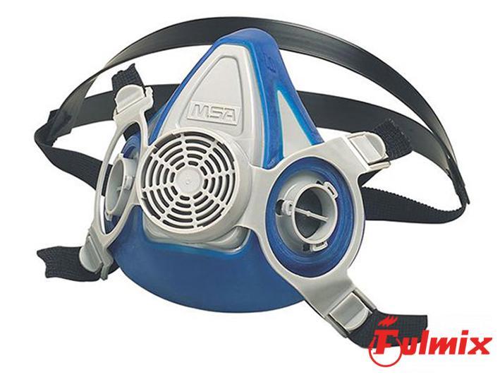 semimaschera msa advantage 200 con filtri p3 p2 o combinati per polveri legno e acidi