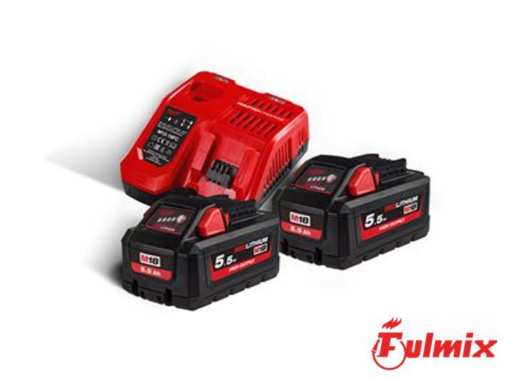 batterie e carica batterie Milwaukee 4933464713