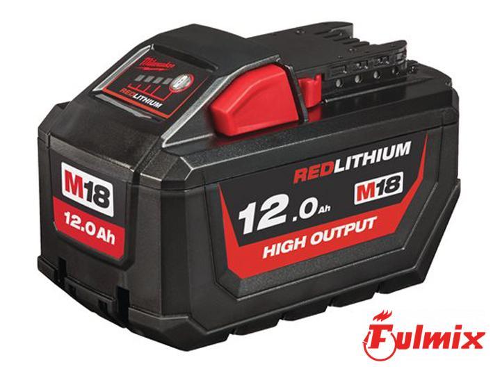 batteria M18 12.0 AH Milwaukee 4932464260 M18 HB12