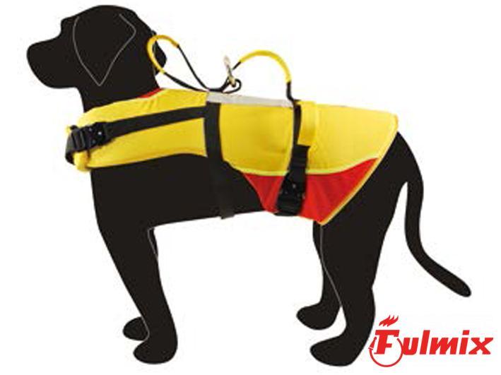 Imbracatura galleggiante per cani da soccorso
